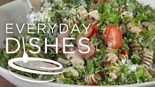 Chicken Kale Pasta Salad