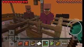 Прохождение карты побег из тюрьмы Minecraft PE