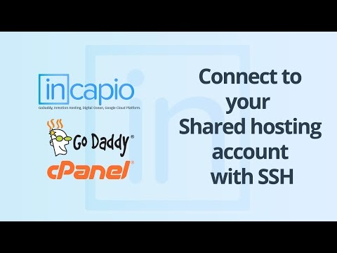 Connect to your shared hosting account with SSH | GoDaddy | 2017