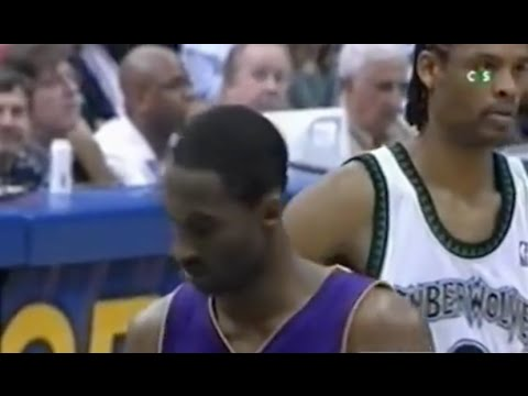 Latrell Sprewell Defense on Kobe Bryant - 2004 WCF Game 5