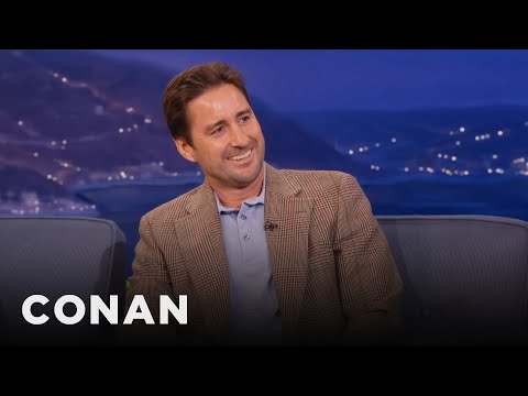 Luke Wilson Always Falls In Love With His Costars   CONAN on TBS