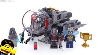 LEGO Ant Man & The Wasp Quantum Realm Explorers review 🐜 76109