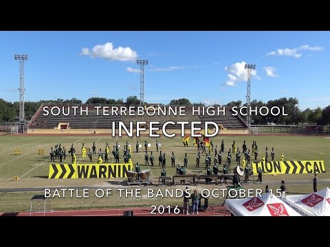 South Terrebonne High School...Million Dollar Band from Gatorland...Infected October 15, 2016