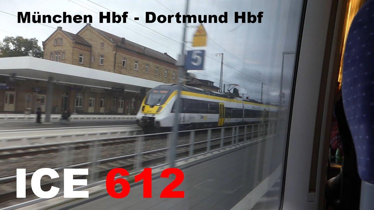 Mit 280 Km H Durch Den Osten Ice 707 Ice 1 Mitfahrt Hamburg Hbf Munchen Hbf Youtube