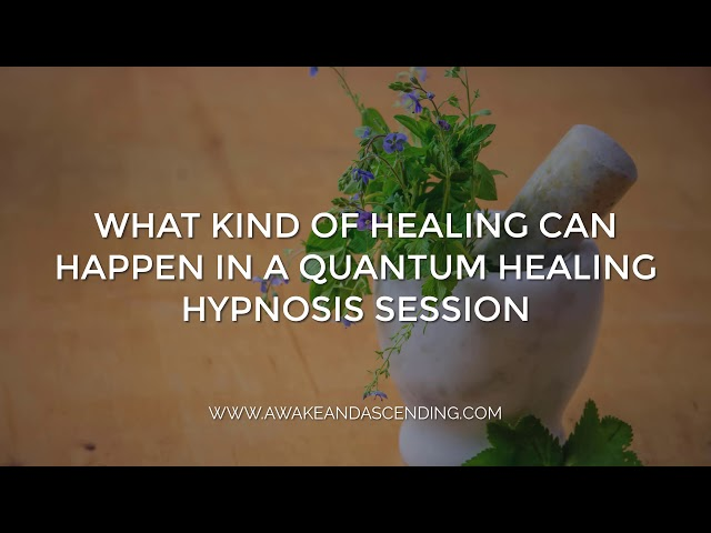 What kind of healing can happen in a Beyond Quantum Healing (BQH) Hypnosis Session