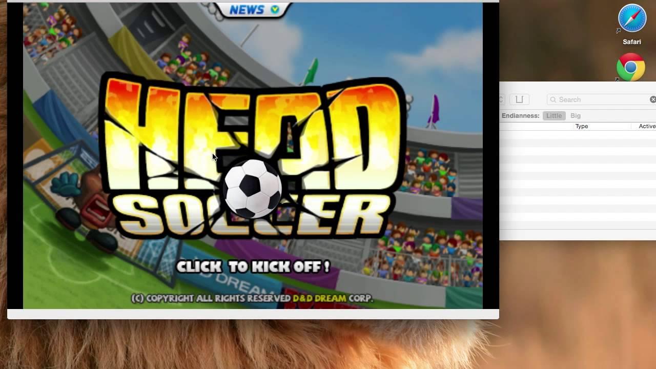 Hacked Head Soccer Mac