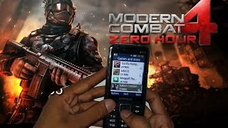 Modern Combat 4 Zero Hour  Gaming Review On Samsung Metro XL