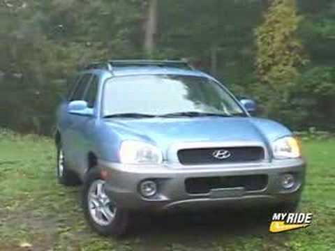 review 2004 hyundai santa fe youtube. Black Bedroom Furniture Sets. Home Design Ideas