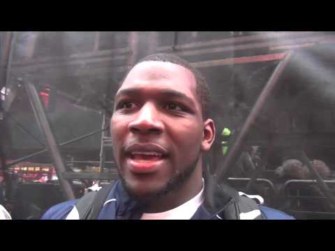 Ed Ruth after Beat the Streets win in Times Square