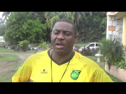 U-17 Head Coach Andrew Edwards reaction after 2-2 draw against Marverley
