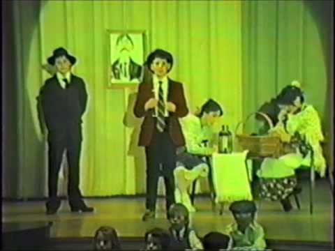 Freedom Bound - 1986 musical with IEF students at the Green Brook High School auditorium - Part 3