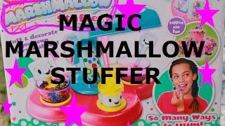 DIY Marshmallows MAKER using Sweet Stuff Magic Marshmallow Stuffer!