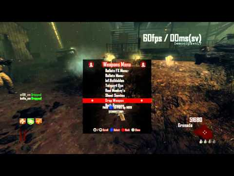 bo2 zombie mod menu showcase