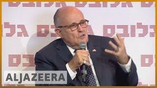 Rudy Giuliani in focus in Trump impeachment inquiry