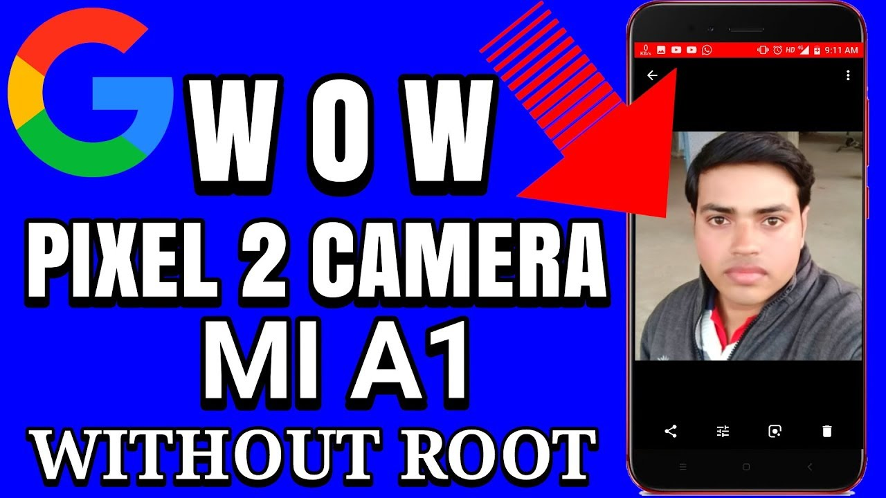 Mi A1 | Easiest Way to Install Google Camera | No root required | Pixel 2  Camera on Mi A1