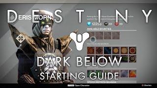 Destiny Guide | How to Start the Dark Below Questline