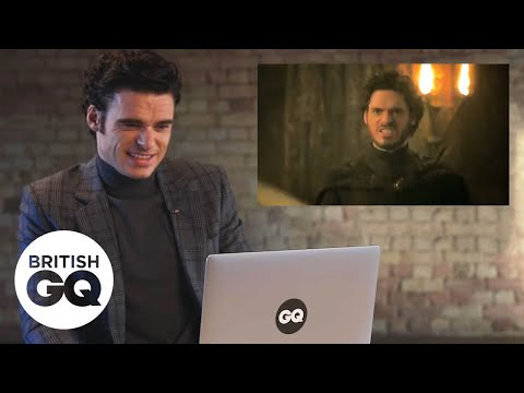 Richard Madden relives the Game of Thrones Red Wedding scene | GQ Action Replay |British GQ
