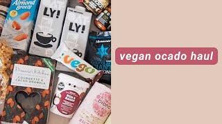 vegan supermarket shop from Ocado 🥘💸