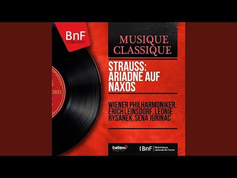 """Ariadne Auf Naxos, Op. 60, Act I: """"Bin Ich Ein Gott, Schuf Mich Ein Gott"""" (Bacchus, Ariadne)"""