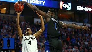 Duke's Defense Leads The Nation In Blocks