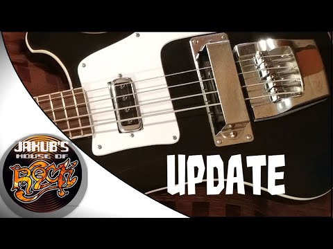 UPDATE About My Chickenbacker Chinese Rickenbacker Copy Bass !