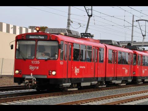 San Diego Trolley Siemens U2 Cars: 1981 - 2015