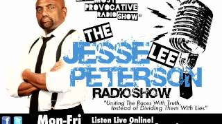 Jesse Lee Peterson Radio Show w/ Gerri Hall, Staunch Black Pro-Obama Democrat  Pt. 2