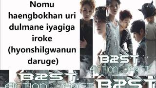 BEAST- Fiction Lyrics (Rom) Mp3