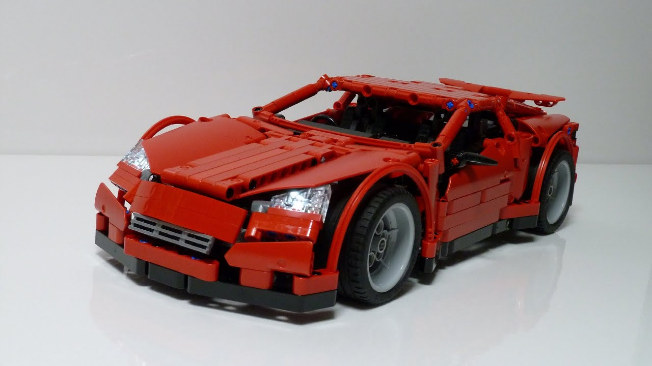 Lego Technic The New Supercar Youtube