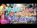 TESTING JUNO ARENA DEFENSE GUARDIAN AFTER BUFF - ASIA SERVER SUMMONERS WAR INDONESIA