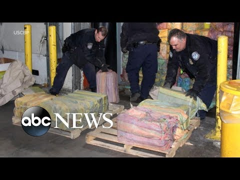 $77M worth of cocaine found in dried-fruit crates in New Jersey: DEA
