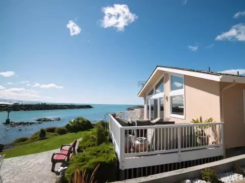 Oceanfront Home Overlooking Port Harbor Oregon Real Estate