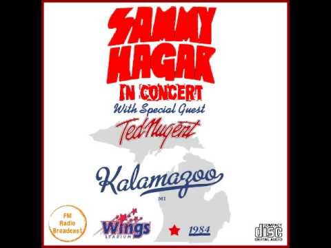 sammy hagar live kalamazoo 1984 fm radio broadcast youtube. Black Bedroom Furniture Sets. Home Design Ideas
