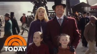 TODAY Goes Behind The Scenes Of 'The Greatest Showman' | TODAY