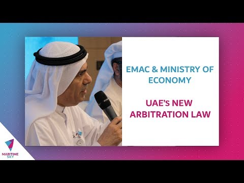 EMAC & Ministry of Economy - UAE's New Arbitration Law