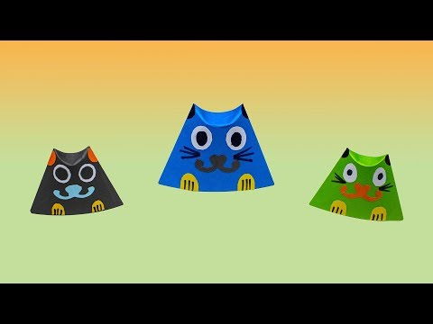 How To Make Cat Mask | Paper Cat Craft | Origami Cat Easy | Popular Craft