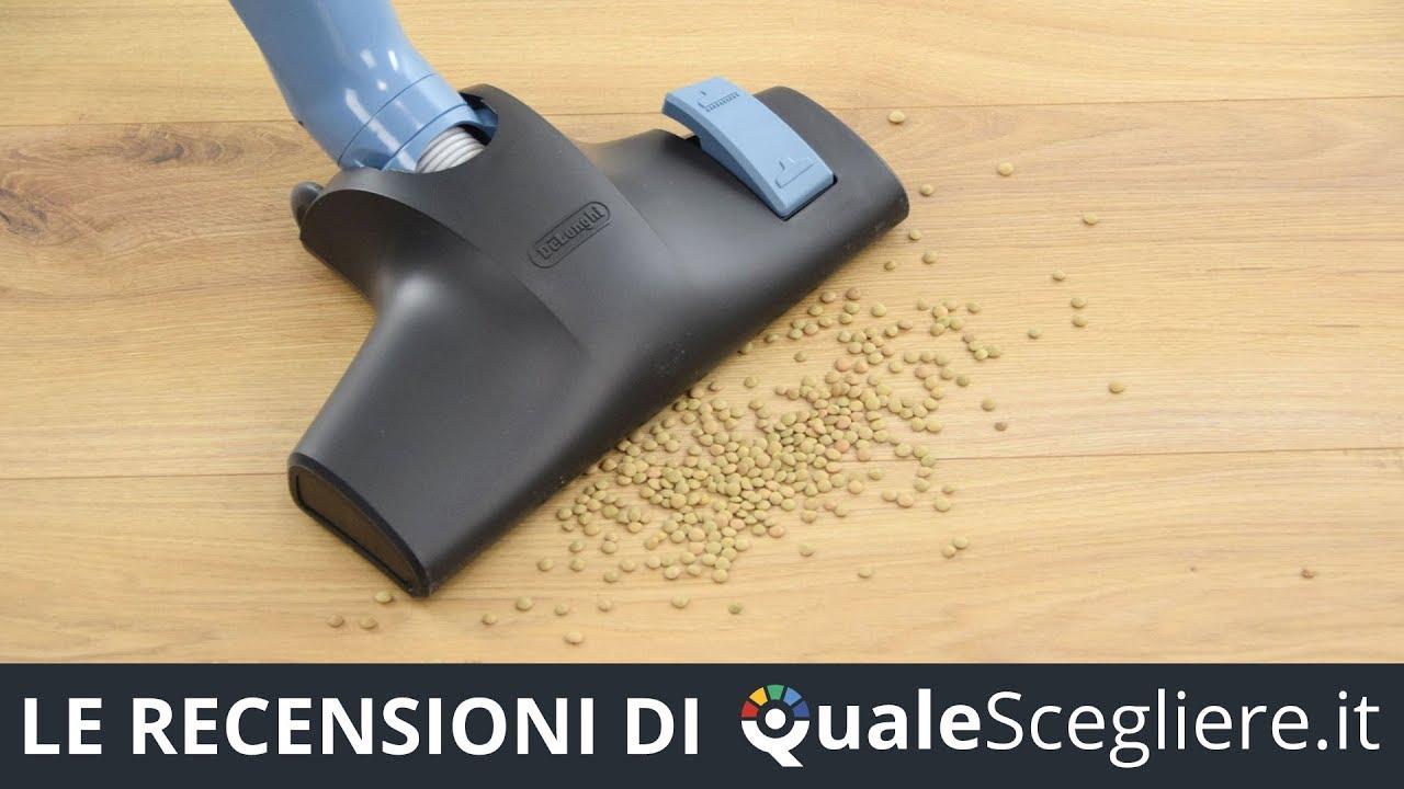 DeLonghi XL125.21 Scopa Elettrica Senza Sacco 450W A+ Aspirapolvere Scopaelettr