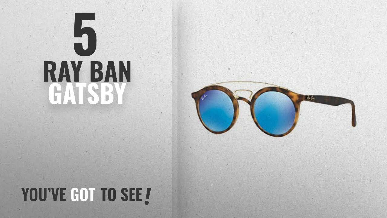 e4e39a23e7 Top 10 Ray Ban Gatsby   Winter 2018    Ray-Ban Gatsby I Sunglasses ...