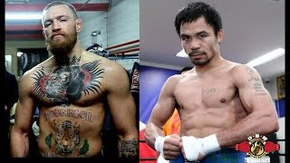 PACQUIAO TALKS ABOUT FIGHTING CONOR MCGREGOR