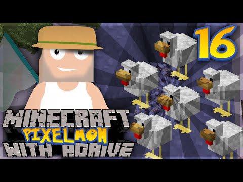 "Minecraft PIXELMON with aDrive! Ep16 ""ANIMAL CRUELTY!"" - PocketPixels Red Let's Play!"