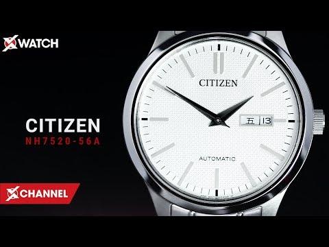 Đánh Giá đồng Hồ Citizen NH7520-56A: Đồng Hồ Cơ đậm Chất Nhật Bản