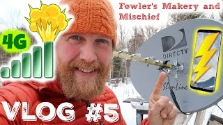 How To Boost Your Cell Phone Signal Living Off Grid (Vlog #5)