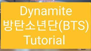 (카운트)Dynamite - 방탄소년단(BTS)카운트설명Count Tutorial