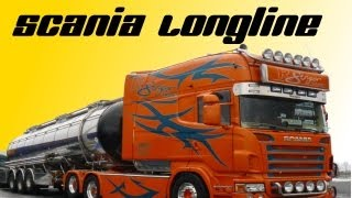 Scania Longline (  Spezial Umbau) Roland Singer Transport innen und außen