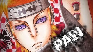 Drawing/ Desenhando Yahiko - Pain (Naruto)