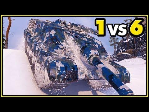 AMX 50 Foch B - 11 KILLS - 1 vs 6 - World of Tanks Gameplay thumbnail