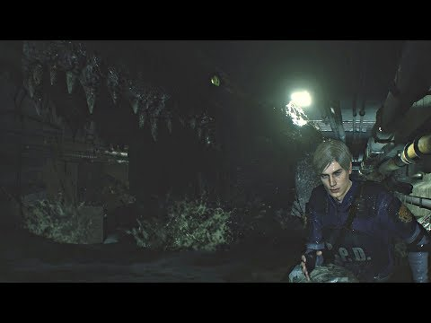 Resident Evil 2 Remake - Giant Zombie Crocodile Boss Fight (RE2 Remake 2019) PS4 Pro Mp3