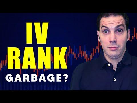 IV Rank is Garbage. [Options Trading / Tastytrade Options Strategies]