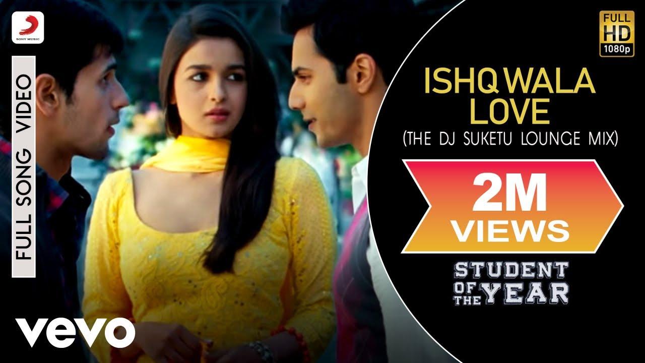 Ishq Wala Love (Remix) - Student of the Year   Alia   Sidharth   Varun    Karan Johar