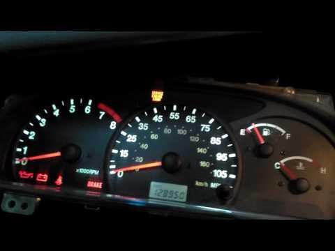 Замена ламп в приборной панели Suzuki Grand Vitara , Chevrolet Tracker